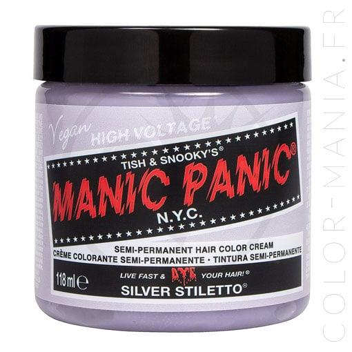 Coloration Manic Panic Silver Stiletto - Classic   Color-Mania