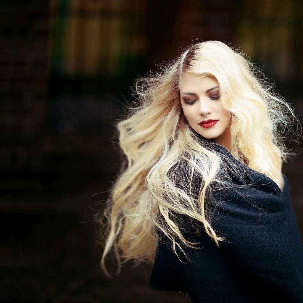 Color-Mania - Branqueamento de cabelo antes / depois
