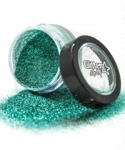 Fines Paillettes Biodégradables Vert d'Eau Aqua Marine - PaintGlow | Color-Mania.fr