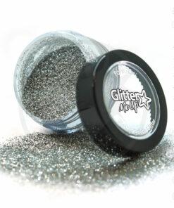 Lentejuelas de plata biodegradables de piedra de luna fina - PaintGlow | Color-Mania.fr