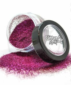 Fines Paillettes Biodégradables Rose Chiffon Rose - PaintGlow | Color-Mania.fr
