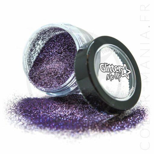 Fines Paillettes Biodégradables Parma Violet - PaintGlow | Color-Mania
