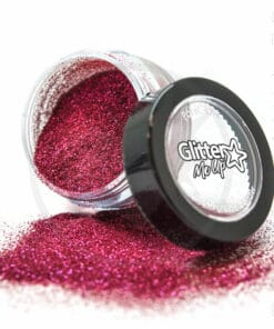 Fines Paillettes Biodégradables Rose Berry Crush - PaintGlow | Color-Mania.fr