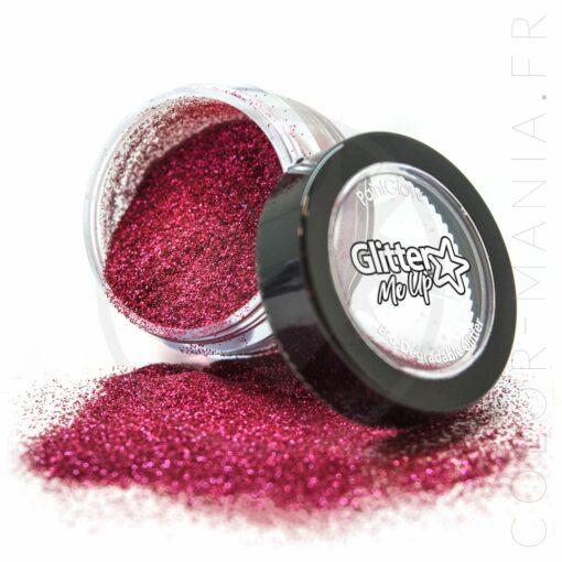 Fines Paillettes Biodégradables Rose Berry Crush - PaintGlow | Color-Mania.fr