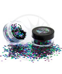 Paillettes Biodégradables Mix Wild Parrot - PaintGlow | Color-Mania.fr