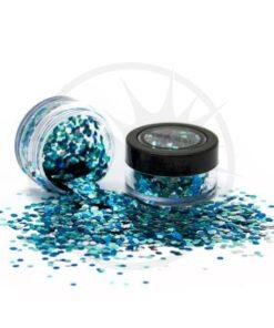 Paillettes Biodégradables Mix Ice Queen - PaintGlow | Color-Mania.fr
