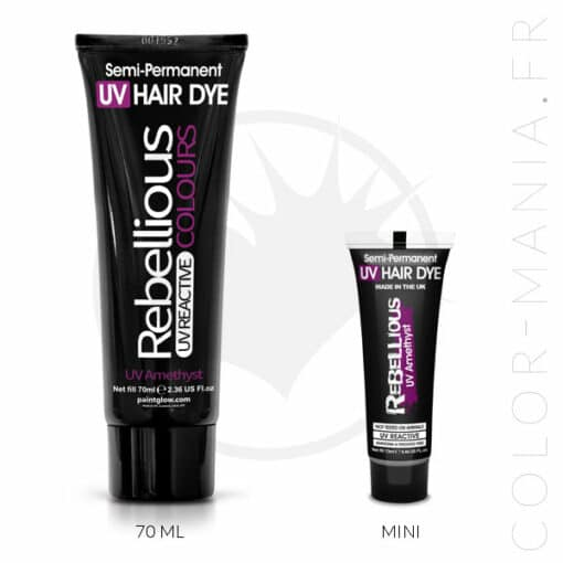 Coloration Cheveux Violet UV Amethyst - Rebellious | Color-Mania