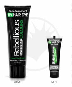 Coloration Cheveux Vert Neon UV Green - Rebellious | Color-Mania