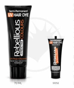 Coloration Cheveux Orange UV Peach Passion - Rebellious |Color-Mania