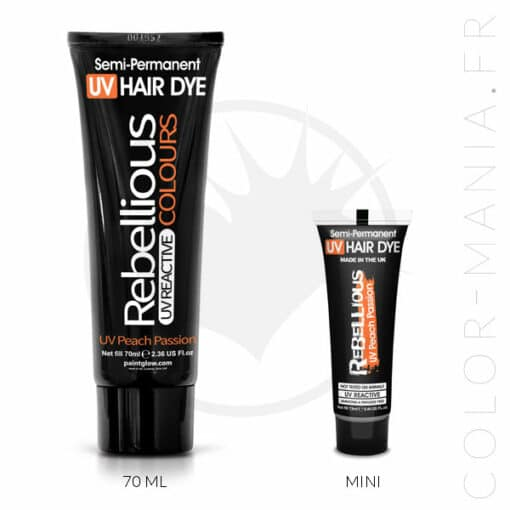 Coloration Cheveux Orange UV Peach Passion - Rebellious |Color-Mania
