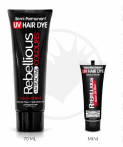 Coloration Cheveux Rouge Neon UV Red - Rebellious | Color-Mania