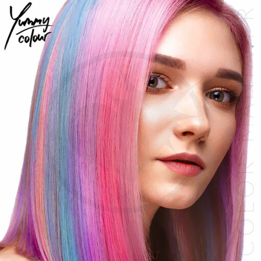 4 Kit para colorear Mechas en colores pastel - Yummy Color | Color-Mania.fr