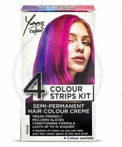 Kit 4 Colorations Mèches Vivid - Yummy Colour   Color-Mania.fr