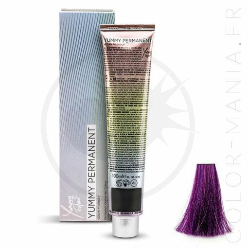 Coloration Professionnelle Violet Pastel Grape - Yummy Colour | Color-Mania