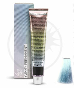Coloration Professionnelle Bleu-Vert Pastel Ice Blue- Yummy Colour | Color-Mania