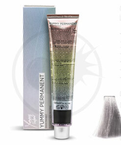 Coloration Professionnelle Metal Blanc-Gris Silver - Yummy Colour | Color-Mania.fr