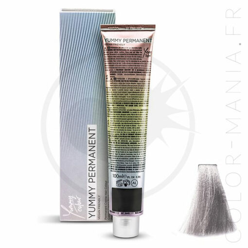 Coloration Professionnelle Metal Blanc-Gris Silver - Yummy Colour | Color-Mania.fr