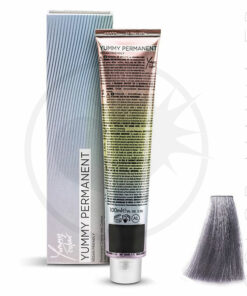 Coloration Professionnelle Metal Gris Steel - Yummy Colour | Color-Mania.fr
