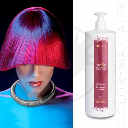 Soin Cheveux Colorés MaKadamia 1 Litre - Urban Keratin   Color-Mania