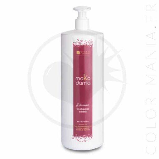 Flacon pompe shampoing cheveux colorés