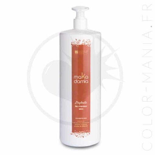Flacon pompe shampoing cheveux secs