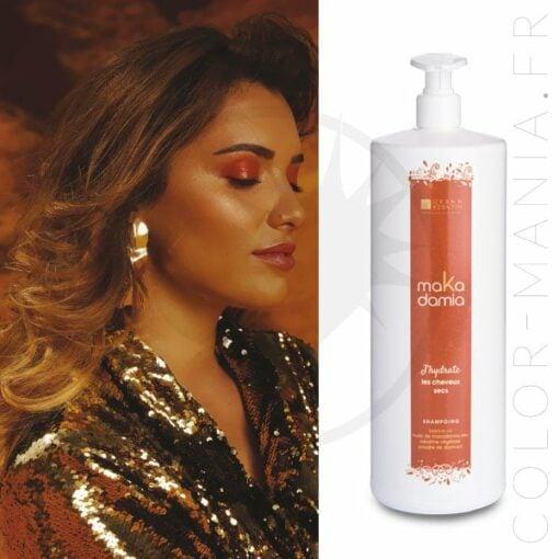 Shampoing Cheveux Secs MaKadamia 1 Litre - Urban Keratin   Color-Mania