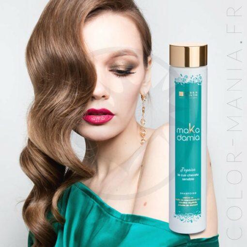 Shampoing Cuir Chevelu Sensible MaKadamia 200 ml - Urban Keratin | Color-Mania