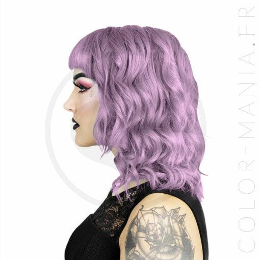 Coloration Cheveux Lavande Pastel Lydia - Herman's Amazing | Color-Mania.fr