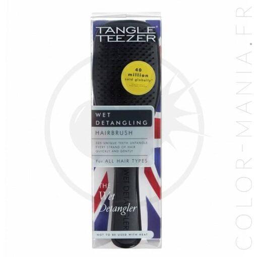 Brosse à Cheveux Wet Detangler Noire Midnight Black - Tangle Teezer | Color-Mania