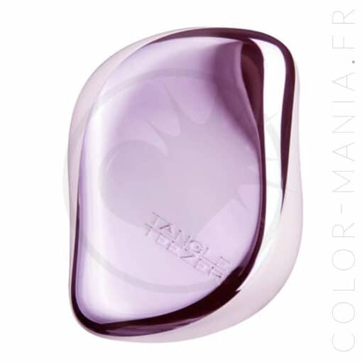 Brosse tangle teezer-compact styler lilac gleam vue du dessus color-mania
