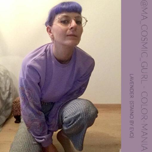Merci @ma_cosmic_gurl :) Coloration Cheveux Directe Intense Violet Lavender - Staino EVO | Color-Mania
