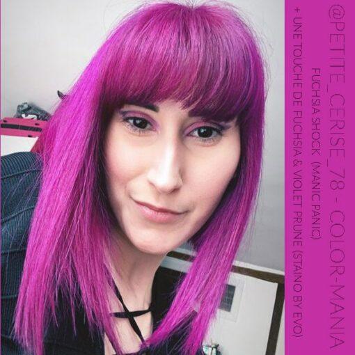 Merci @petite_cerise_78 :) Coloration Cheveux Directe Intense Violet Prune - Staino EVO | Color-Mania