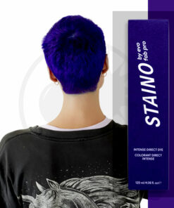 Coloration Cheveux Directe Intense Bleu Ultramarine - Staino EVO | Color-Mania