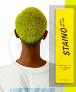 Coloration Cheveux Directe Intense Jaune Fluo - Staino EVO | Color-Mania