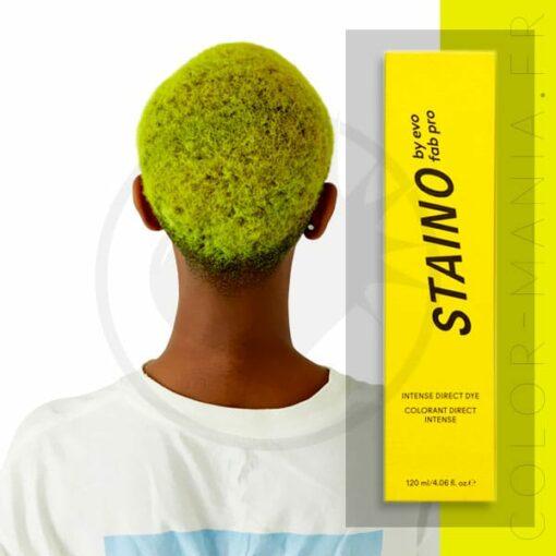 Coloration Cheveux Directe Intense Jaune Fluo - Staino EVO | Color-Mania