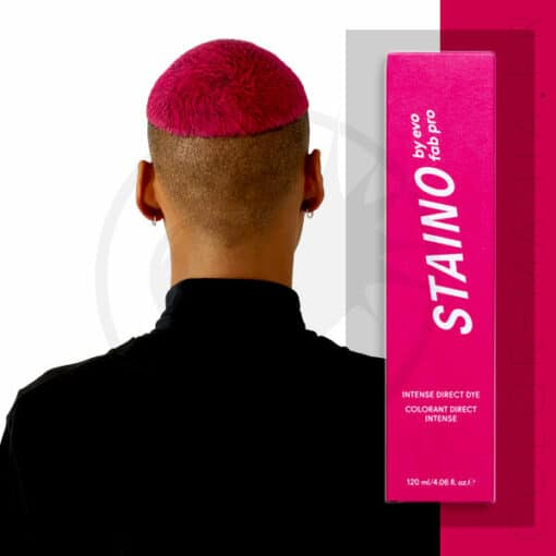 Coloration Cheveux Directe Intense Rose Fuchsia - Staino EVO | Color-Mania