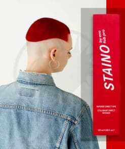 Coloration Cheveux Directe Intense Rouge Rubis - Staino EVO | Color-Mania