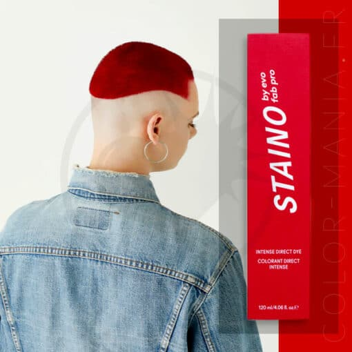 Coloration Cheveux Directe Intense Rouge Rubis - Staino EVO | Color-Mania