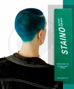 Coloration Cheveux Directe Intense Vert Jade - Staino EVO | Color-Mania