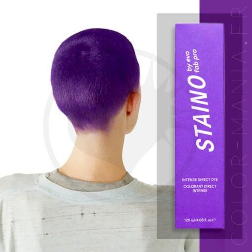 Coloration Cheveux Directe Intense Violet Lavender - Staino EVO | Color-Mania