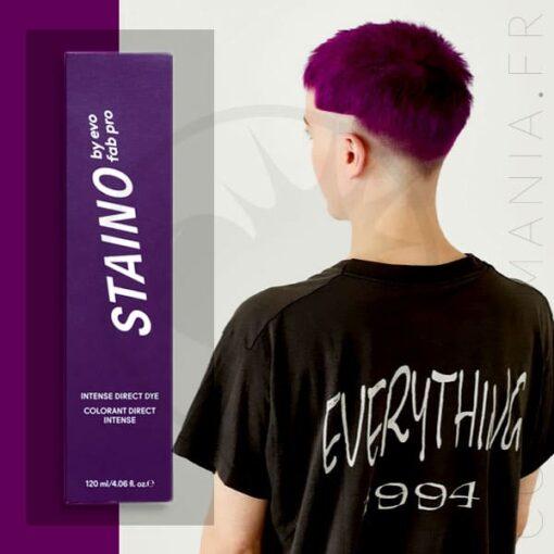 Coloration Cheveux Directe Intense Violet Prune - Staino EVO | Color-Mania