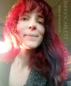 Merci DarkXScarlett :) Coloration Cheveux Directe Intense Rouge Rubis - Staino EVO   Color-Mania