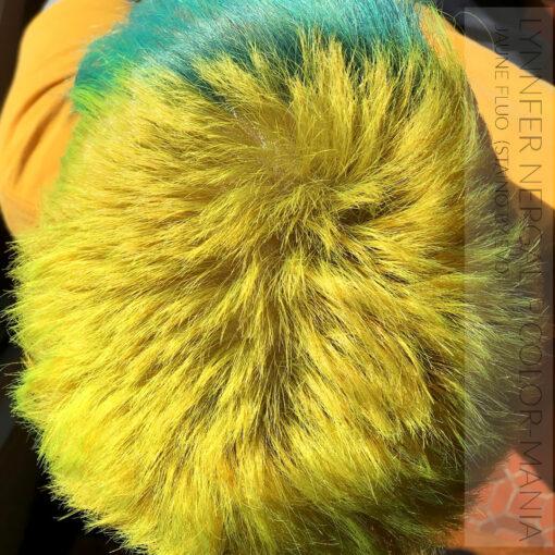 Merci Lynnfer Nergal :) Coloration Cheveux Directe Intense Jaune Fluo - Staino EVO | Color-Mania