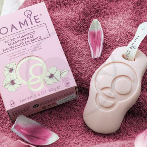 Foamie - Shampoo Bar Hibiskiss (pour cheveux fragiles) | Color-Mania