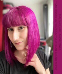 Merci @petite_cerise_78 :) Coloration Cheveux Rose Fuschia Shock - Manic Panic | Color-Mania