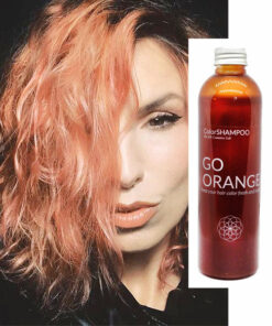Shampoing Coloré Cheveux Roux - Go Orange | Color-Mania