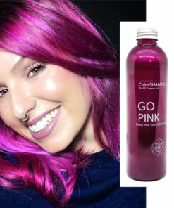 Shampoing Coloré Cheveux Roses - Go Pink | Color-Mania