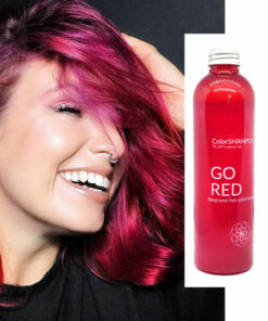 Shampoing Coloré Cheveux Rouges - Go Red | Color-Mania