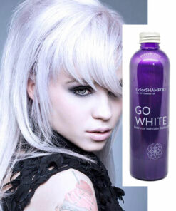 Shampoing Coloré Cheveux Blancs - Go White | Color-Mania