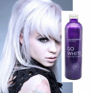 Shampoing Coloré Cheveux Blancs - Go White | Color-Mania
